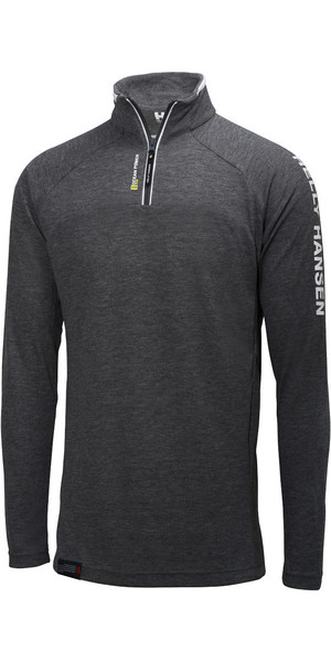 Helly Hansen HP 1/2 Zip Pullover de carbón 54213