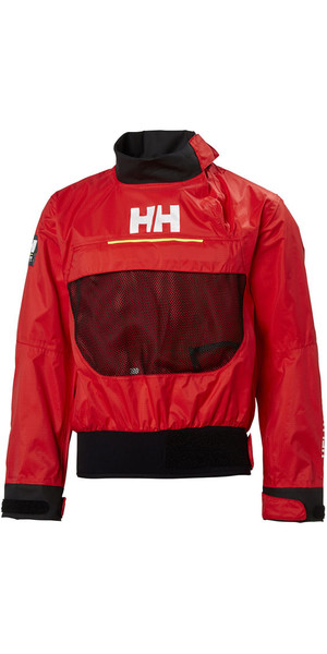2018 Helly Hansen Junior HP Smock Top Alert Red 33918