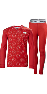 Helly Hansen Set Intimo Termico Active Junior Lifa Helly Hansen 48647 - Lampone