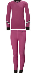 2019 Helly Hansen Junior Lifa Active Thermo Basisschicht Set Pink 26665
