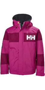 Helly Hansen Junior Salt Port Jas Very Berry 41634