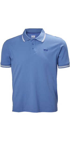 2018 Helly Hansen Kos Polo Shirt Blue Water 50565