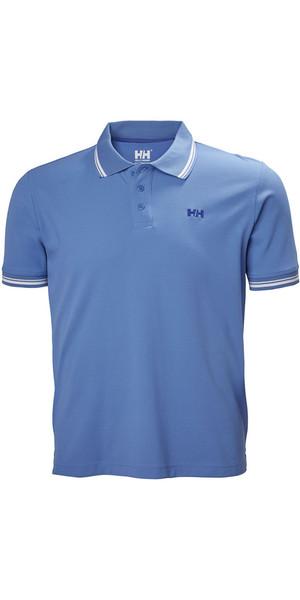 2018 Helly Hansen Kos Polo Camisa azul agua 50565