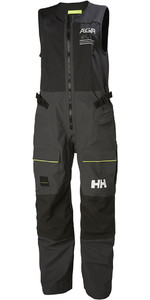 2018 Helly Hansen Womens AEGIR Race Salopettes Ebony 33885