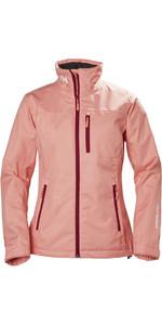 2018 Helly Hansen Ladies Crew Jacket Shell Pink 30297