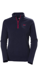 2019 Helly Hansen Ladies Daybreaker 1/2 Zip Fleece Navy 50845