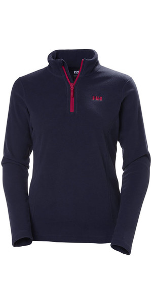 2018 Helly Hansen Damen Daybreaker 1/2 Zip Fleece Navy 50845
