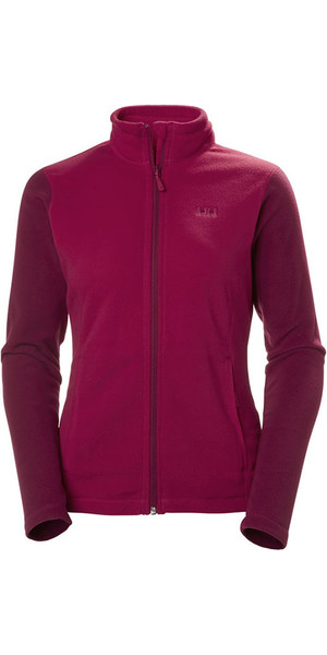 2018 Helly Hansen Ladies Daybreaker Chaqueta de polar Persian Red 51599