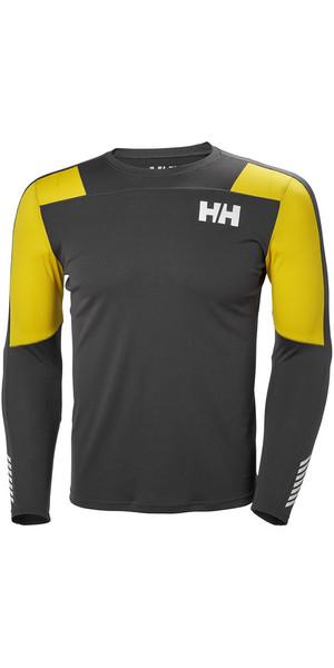 2018 Helly Hansen Lifa Active Light Long Sleeve T Shirt Ebony 48360