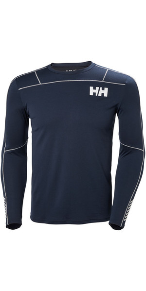 2018 Helly Hansen Lifa Active Maglietta a maniche lunghe a maniche lunghe blu scuro 48360