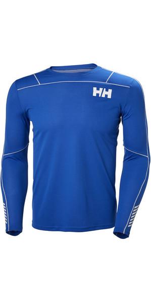 2018 Helly Hansen Lifa Active Light Long Sleeve T Shirt Olympian Blue 48360