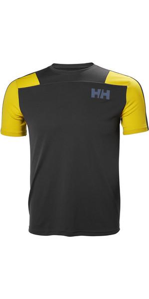 2018 Helly Hansen Lifa Active Lumière T-shirt Ebony 48361