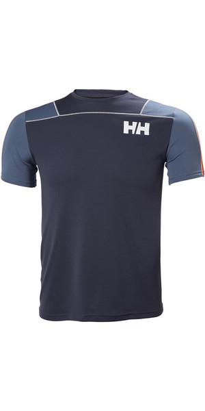 2018 Helly Hansen Lifa Active Light Maglietta Graphite 48361