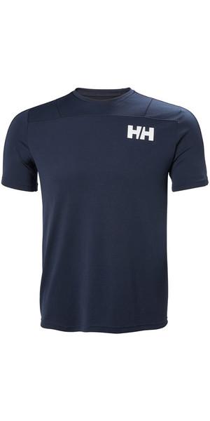 2018 Helly Hansen Lifa Active Light camiseta azul marino 48361