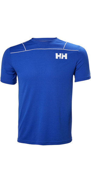 2018 Helly Hansen Lifa Active Light T Shirt Olympian Blue 48361