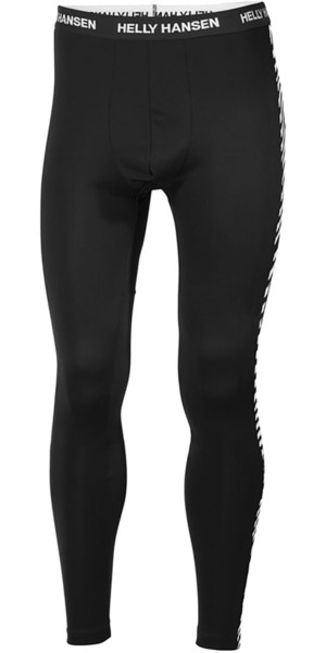 2019 Helly Hansen Lifa Base Layer Pantalon Noir 48305