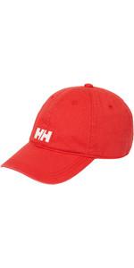 2019 Helly Hansen Logo Cap Alarm Rød 38791