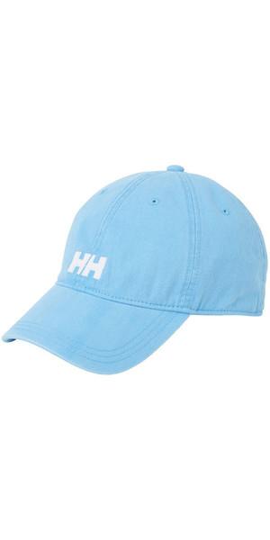 2018 Helly Hansen Logo Cap Aqua Blue 38791