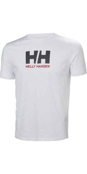 2018 Helly Hansen Logo T-Shirt White 33979