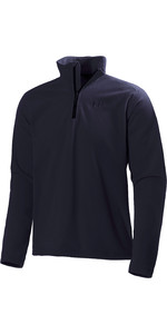 2021 Helly Hansen Heren Daybreaker 1/2 Zip Fleece Navy 50844