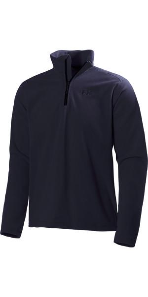 2019 Helly Hansen Herren Daybreaker 1/2 Zip Fleece Navy 50844