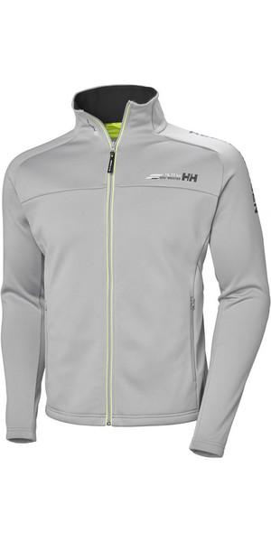 2018 Helly Hansen Mens HP Fleece Jacket Silver Grey 54109