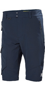 2019 Helly Hansen Heren Hp Softshell Shorts Navy 34056