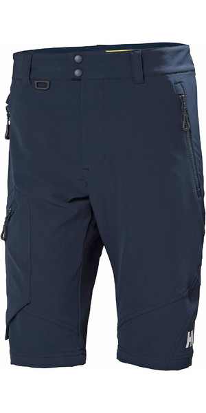 2019 Helly Hansen Mens HP Softshell Shorts Navy 34056
