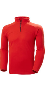 2020 Helly Hansen Hp 1/2 Zip Technical Pullover 54213 - Alarm Rot