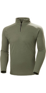 2020 Helly Hansen Masculino Hp 1/2 Zip Pulôver Technical 54213 - Verde Lav