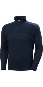 2020 Helly Hansen De HP Hommes 1/2 Zip Technical Pull - Over 54213 - Navy
