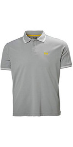 2020 Helly Hansen Mens Kos Polo 34068 - Grey Fog