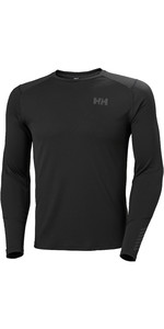 2020 Helly Hansen Mens Lifa Active Crew Top 49389 - Black