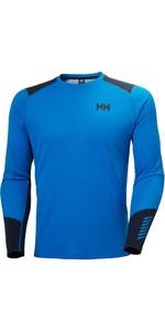 2020 Helly Hansen Lifa Hommes Active Crew De Haut 49389 - Bleu électrique