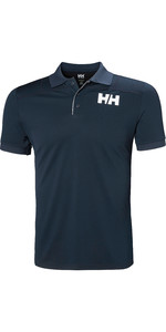 2019 Helly Hansen Lifa Active Light Kurzarm Polo Navy 49322