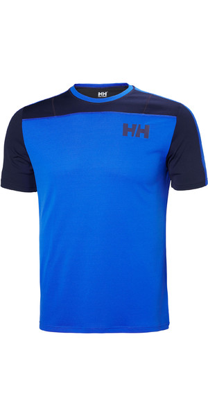 2019 Helly Hansen T-shirt Léger Lifa Active Light Pour Homme, Olympian Blue 49330