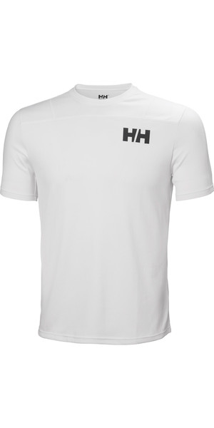 2019 Helly Hansen T-shirt Léger Homme Lifa Active Light Blanc 49330