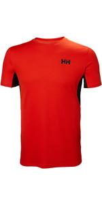 2019 Helly Hansen Herre Lifa Active Mesh T-shirt Kirsebær Tomat 49319