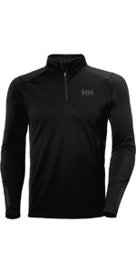 Helly Hansen Lifa Active 1/2 Zip Top Da Uomo 49388 - Nero