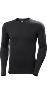 Helly Hansen Merino Mid Weight Crew Top 49364 - Nero