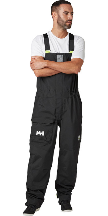 2021 Helly Hansen Pier Trägerhose 34157 - Ebenholz