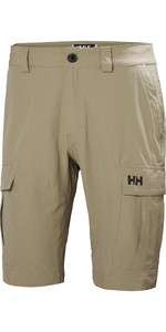 2019 Helly Hansen Mens QD Cargo Shorts Fallen Rock 54154