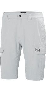 2019 Helly Hansen Heren Helly Hansen Cargo Shorts Grey Fog 54154