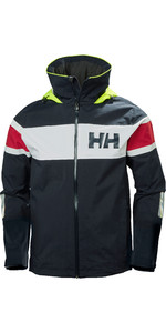 2020 Helly Hansen Mens Salt Flag Sailing Jacket 33909 - Classic Navy