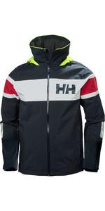 2020 Helly Hansen Chaqueta De Navegación Con Bandera De Salt Para Hombre 33909 - Navy Clásico