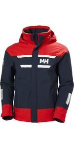 2021 Helly Hansen Herren Salt Küstensegeljacke 30222 - Navy