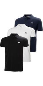 Helly Hansen Heren Transat Poloshirt Triple Pack - Zwart / Wit / Navy