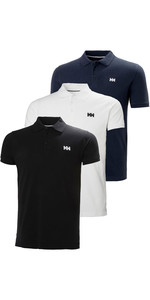 Helly Hansen Herre Transat Poloshirt Triple Pack - Sort / Hvid / Navy