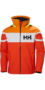 2019 Helly Hansen Salt Flag Jacket Cherry Tomato 33909