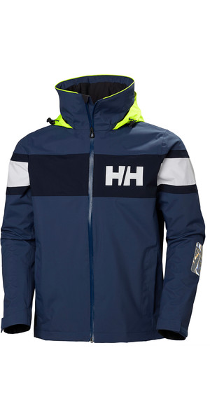 2018 Helly Hansen Salt Flag Jacket Graphite Blue 33909